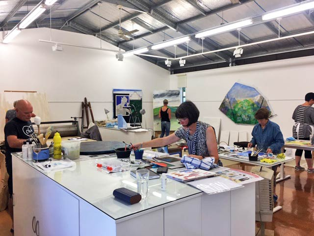 Colin Gibbs Contemporary Art Workshop