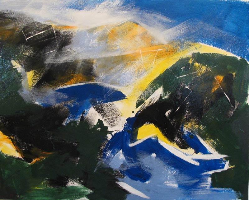 Earth, Sky, Water: landscape paintings