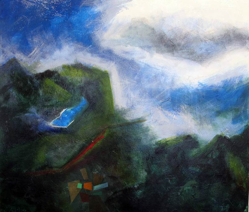 Earth, Sky, Water: landscape paintings