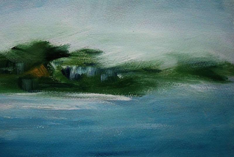 Isle of Kerrera: Baxter to Keats