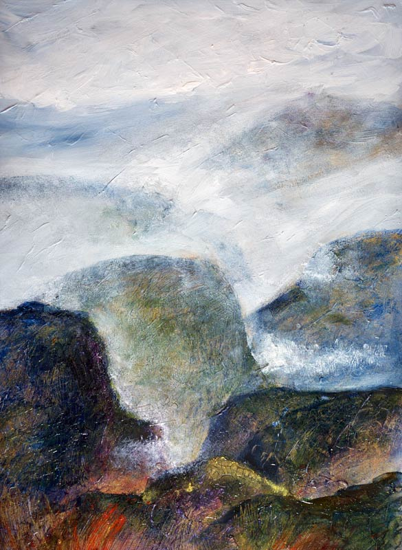 Scottish Highlands - In painting this series of paintings, the landscape became more than a view of the land