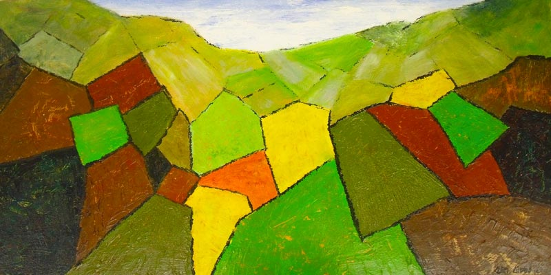 Val de Dronne: Artist in the landscape of south-western France